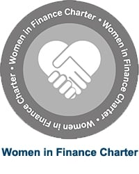 Women in Finance Charter logo